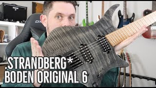 "Strandberg Boden Original 6 Guitar Review: ""It's Not What It Looks Like!"""
