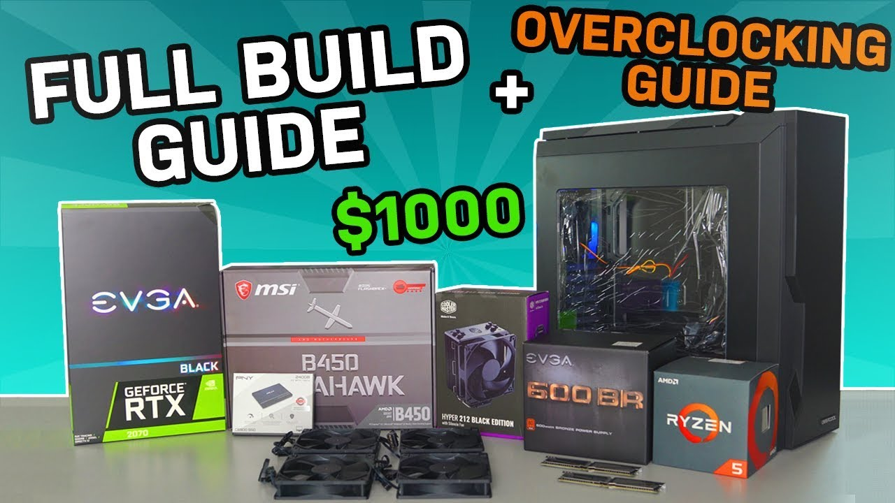 How To Build A Gaming PC + Overclocking Guide (2019) – TechSource