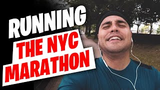 I am running the 2018 NYC Marathon