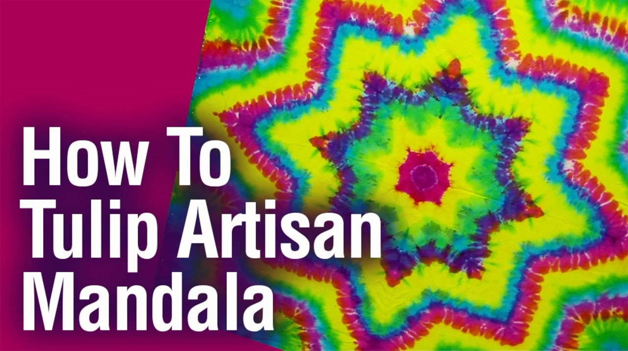 How To Tulip Artisan Mandala Youtube