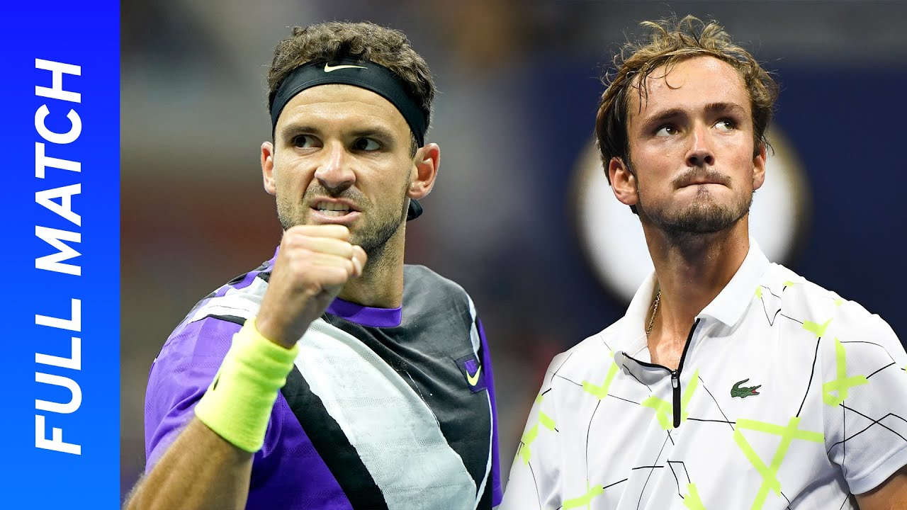 Daniil Medvedev vs Grigor Dimitrov Full Match | US Open 2019 Semifinal