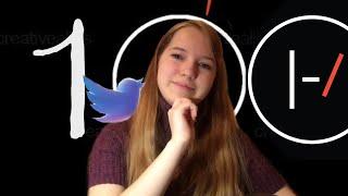 100 подписчиков   Twitter   Twenty One Pilots хиатус  -/