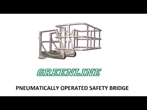 Pneumatically Operated Safety Bride with Extension - GREENLINE Gangways