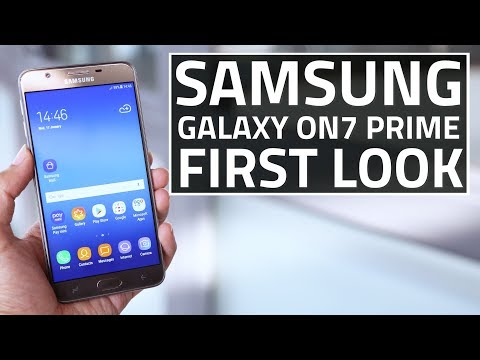 Samsung Galaxy On7 Prime First Look | Camera, Specs, Features, and More