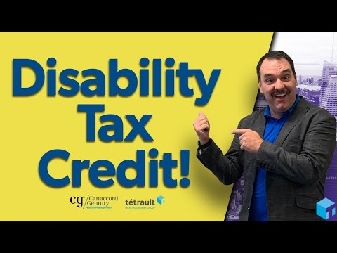 Disability Tax Credit For Canadians