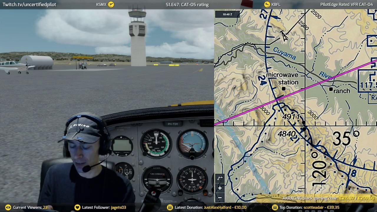 ✈ S1 E47: CAT-05 rating | A2A | PilotEdge | Prepar3D