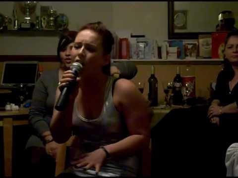 Louise Singing Listen At Xmas - A Bit Drunk :P