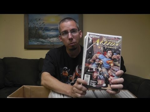 ASMR whispering look at my comic book collection - #1