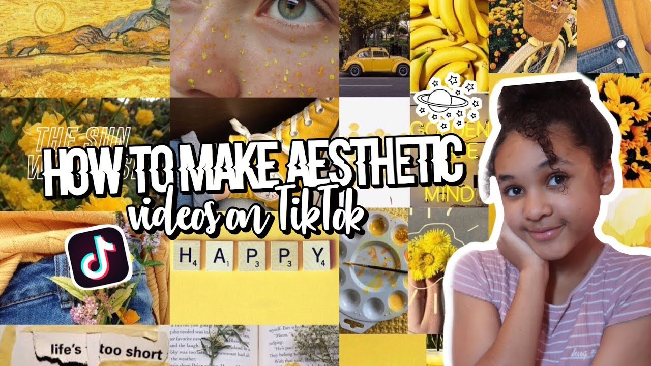 HOW TO MAKE AESTHETIC VIDEOS ON TIKTOK!!   Inspiring Vanessa