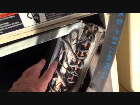 How to fix a leaking HVAC unit