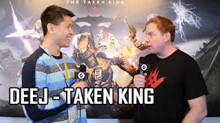 Destiny The Taken King Interview Deej Bungie Community Manager E3 2015
