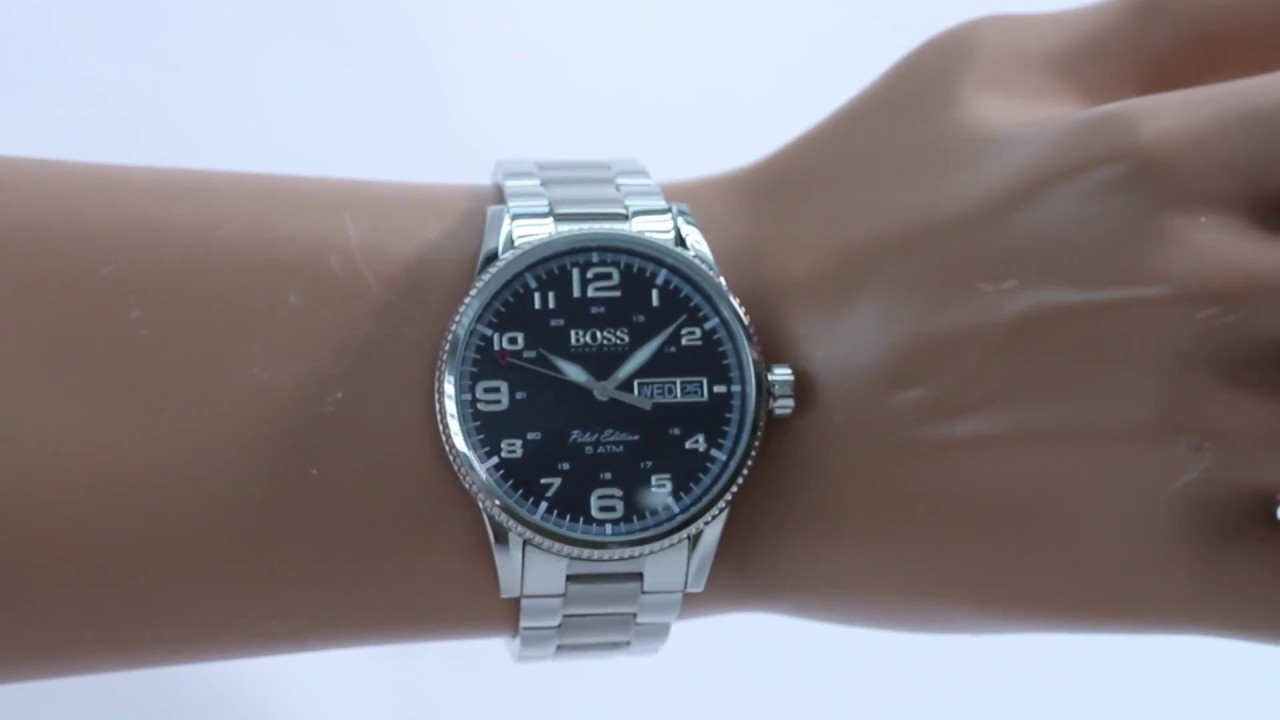 Hands on with the Hugo Boss (1513327) - YouTube a0604f1a412