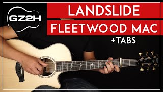 Landslide Guitar Tutorial Fleetwood Mac Guitar Lesson |Fingerpicking + Electric Solo|