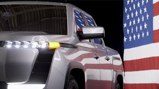 V.P. Mike Pence Unveils Electric Truck at Lordstown Motors