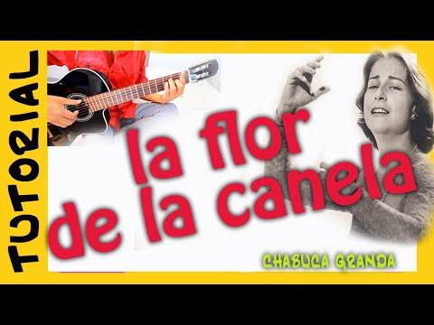 Explicacion La Flor de la Canela en Guitarra