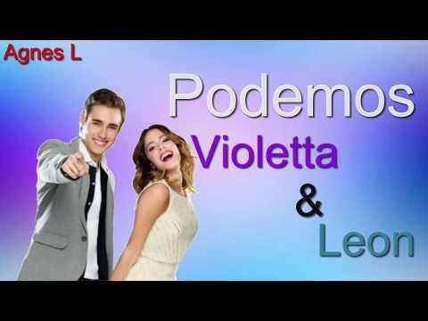 Podemos Violetta & Leon (Lyrics video)