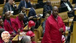 EFF Floyd Shivambu, Jacob Zuma Pay Back The Money