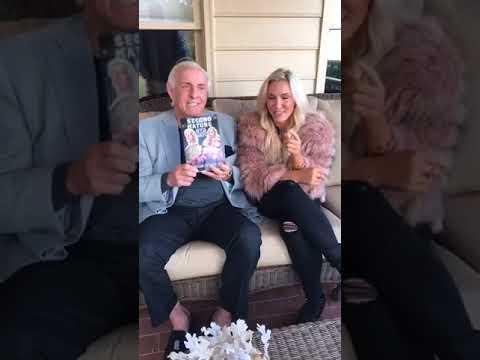 Ric Flair & Charlotte Flair Facebook Live (23/11/17)