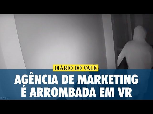 Agência de Marketing é arrombada em Volta Redonda