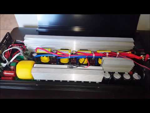 Inside 60V 3000W Chinese Pure Sine Wave Inverter