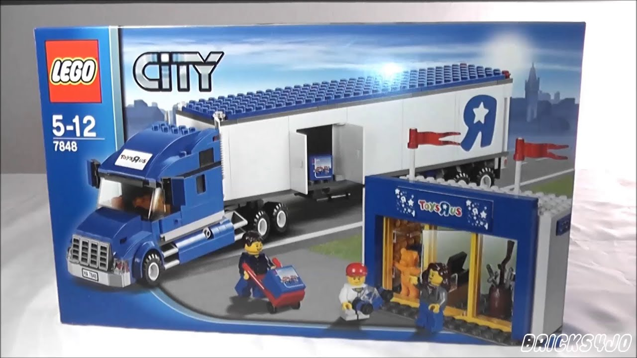 Lego 7848 city toys r us truck review deutsch youtube - Maisonnette toys r us ...
