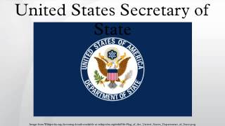 United States Secretary of State