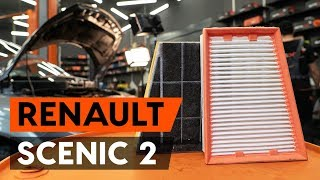 Replacing Radiator engine cooling on RENAULT SCÉNIC: workshop manual