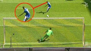 Rare Penalty Goals in Football