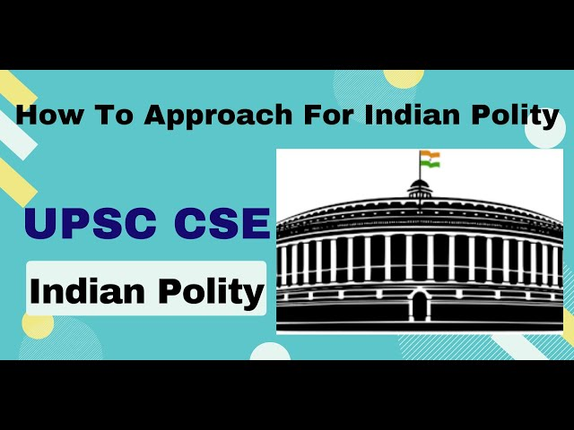 How To Approach For Indian Polity  | Indian Polity | UPSC Polity | Polity Preparation