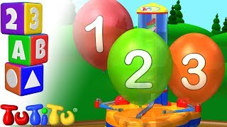 学习英文数字 | 气球 | TuTiTu 幼儿