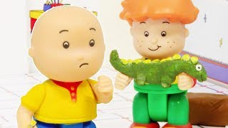 🐢 Caillou and the Dinosaur 🐢 | Funny Animated Kids show | Caillou Stop Motion