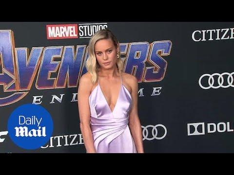 Brie Larson Looks Stunning At Avengers: Endgame Premiere