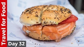 Video Salmon Bagel at Russ & Daughters and Amazing Tacos at Los Tacos No. 1 in NYC download MP3, 3GP, MP4, WEBM, AVI, FLV Juni 2018
