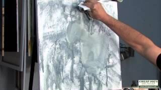 Andy Braitman- Oil Class- Part 4- Working Wet on Wet
