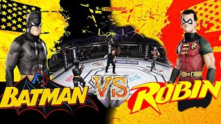 EA Sports UFC 3 - Batman Vs. Robin (Jason Todd)  : Teacher & Student Rivalry (CPU Vs. CPU)