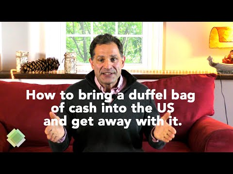 How To Enter Or Re-enter The US With A Large Amount Of Cash