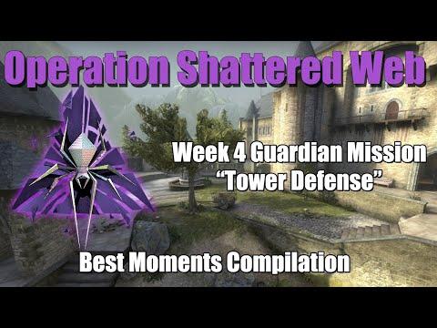 Operation Shattered Web Tower Defense Guardian Mission - Week 4 Sniper's Den CSGO Operation