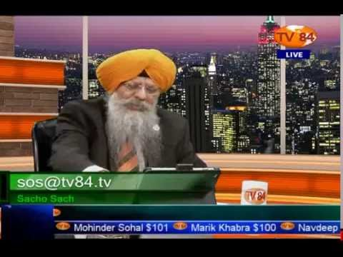 SOS 5/18/2016 Part.1 Dr. Amarjit Singh : Canadian Apology on Komagatamaru; Lesson For India