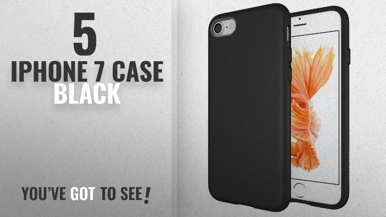 best service fa3a0 71564 Top 5 IPhone 7 Case Black [2018 Best Sellers]: Diztronic Full Matte  Slim-fit TPU Case for Apple