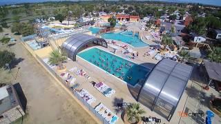 Camping Le Soleil de la Méditerranée ⭐⭐⭐⭐ Saint-Cyprien  |  Languedoc-Roussillon