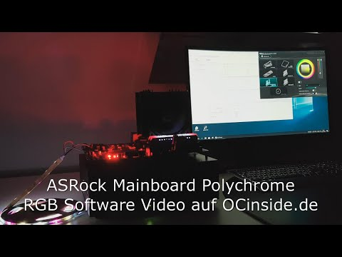 ASRock Polychrome RGB Software Video
