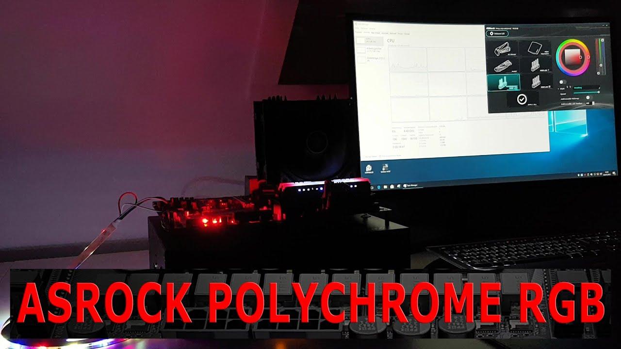 ASRock Polychrome RGB Software Video