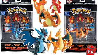 Pokemon Trainer's Choice Primal Charmander Charmeleon MEGA Charizard X TOMY - Video Game Spin