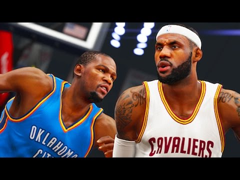 NBA 2K15 Gameplay - LeBron vs. Durant!! Cleveland Cavaliers vs OKC Thunder!! (PS4 1080p HD)