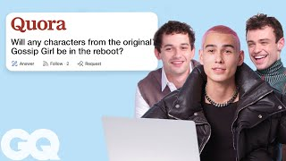'Gossip Girl' Cast Goes Undercover on YouTube, Twitter and Instagram | Actually Me | GQ