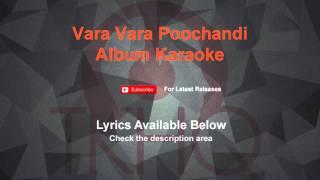 Vara Vara Poochandi Karaoke Album Karaoke