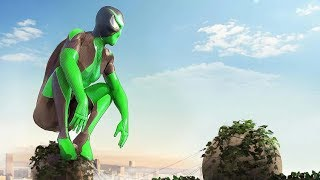 New Rope Frog Ninja Spider Hero Strange Gangster Vegas Ep-2   Amazing Vice Spider Vegas Rope Hero
