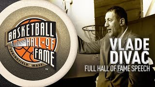 Vlade Divac | Hall of Fame Enshrinement Speech