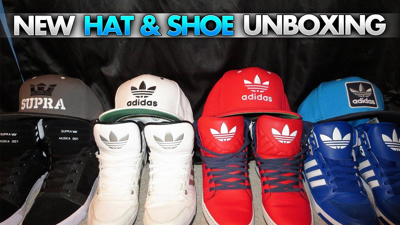9c65bb27b122 Supra Shoe   Hat Unboxing - YouTube
