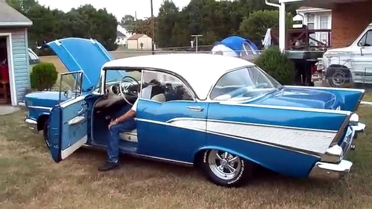 & 1957 Chevy BelAir 4 Door Hard Top 9/22/2010 - YouTube